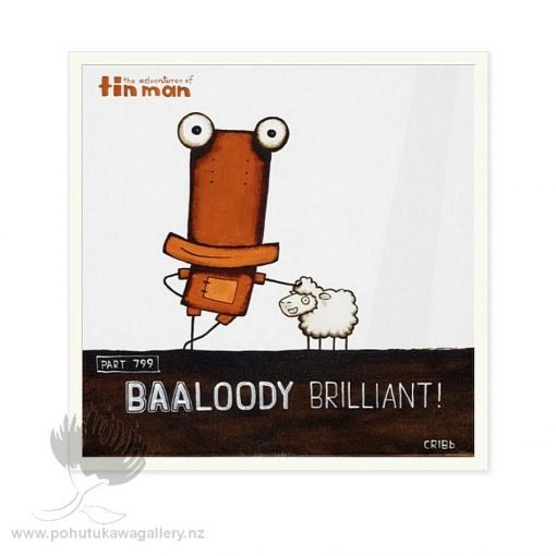 Baa-loody Brilliant - FRAMED ONLY by Tony Cribb - Top Sellers New Zealand