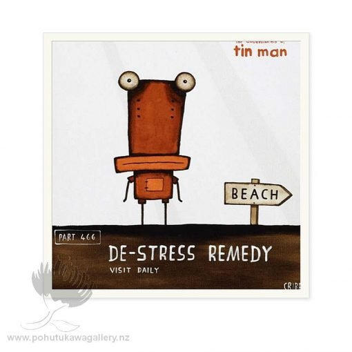 De Stress Remedy by Tony Cribb - Notecards New Zealand