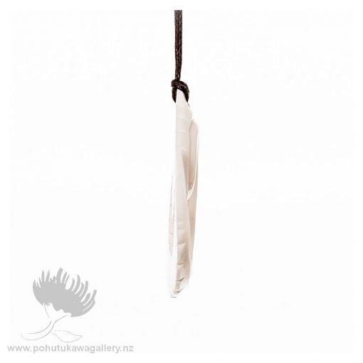 NZ BONE Koru necklace pendant