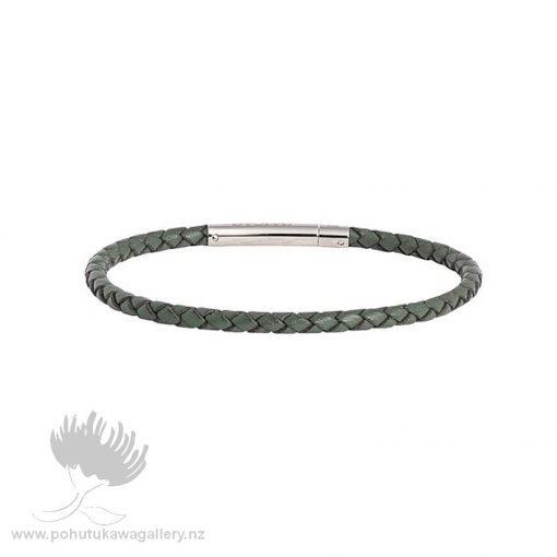 LKBEL-GR-1-Forest-Leather-Single-Twist-Bracelet